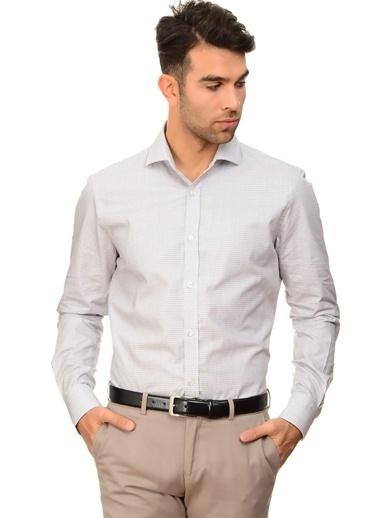 Cotton Bar Uzun Kollu Gömlek Bej